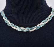fonott fém nyaklánc